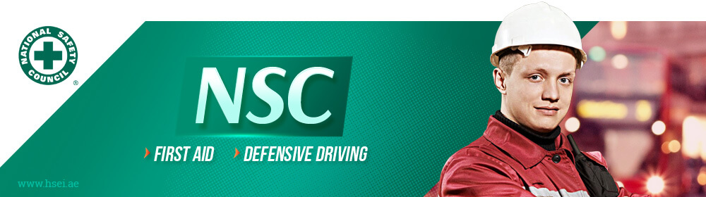 NSC First Aid Defensive Driving